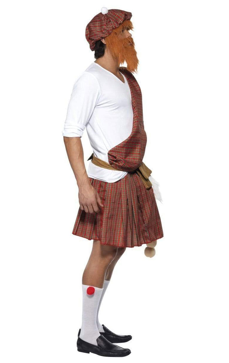 Adult Well Hung Highlander Stag Costume