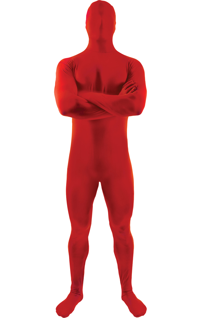 Adult Red Second Skin Suit