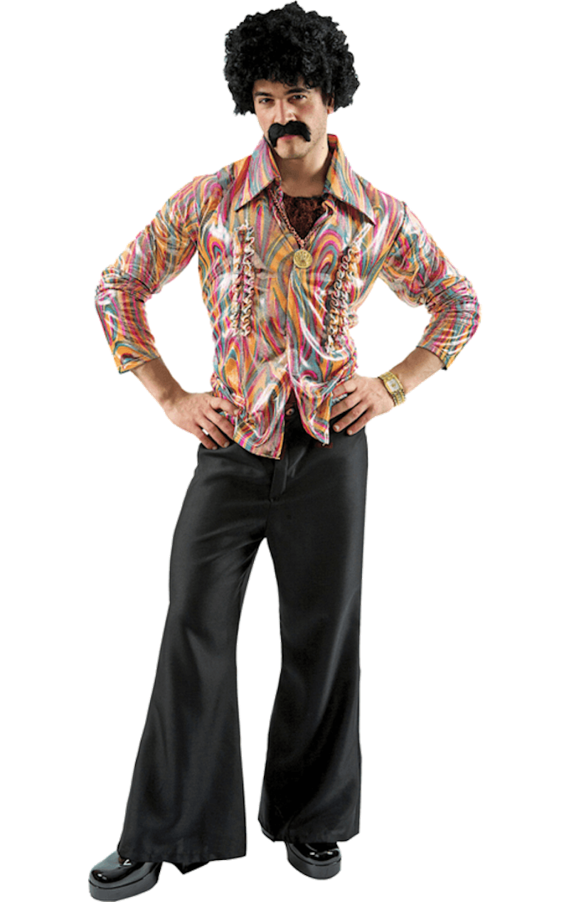 Mens Frill Disco Costume