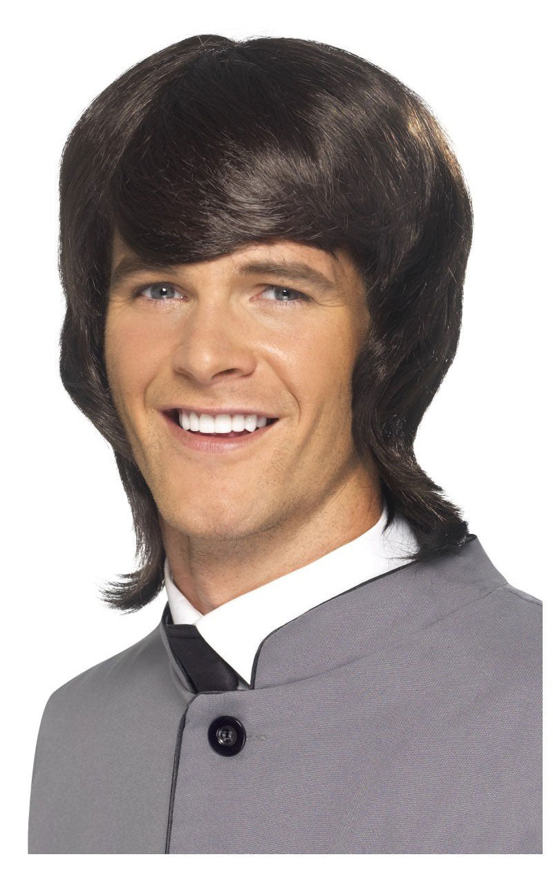 60s Popstar Wig BROWN