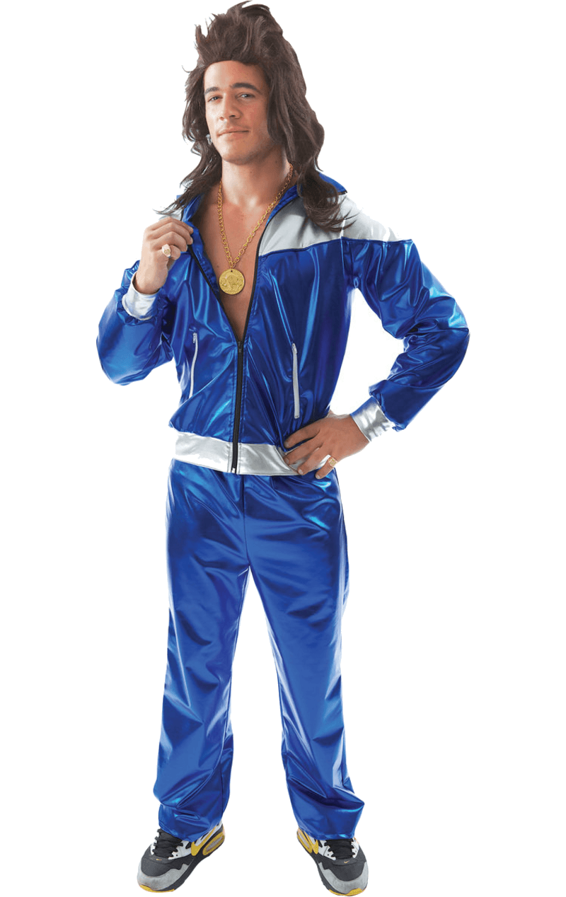 Adult Mens 1980s Shell Suit Costume