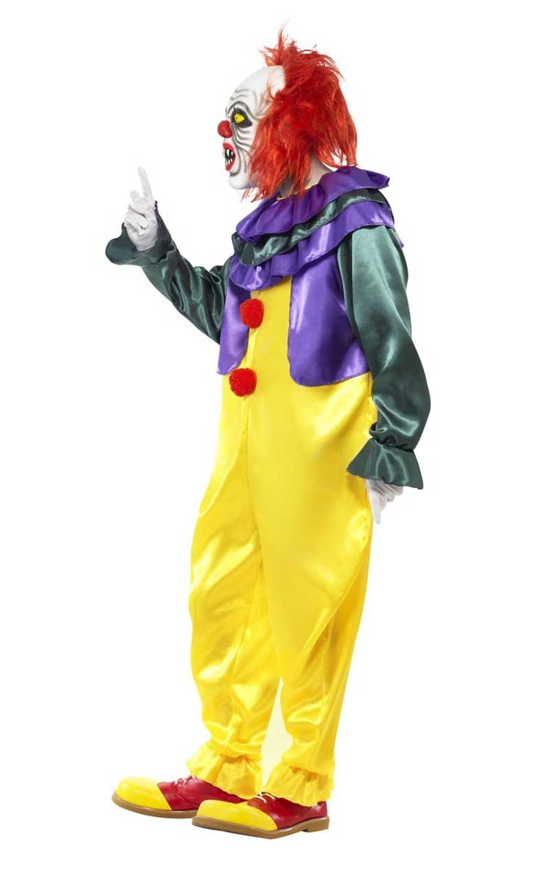 Creepy Penny-Wise Clown Costume