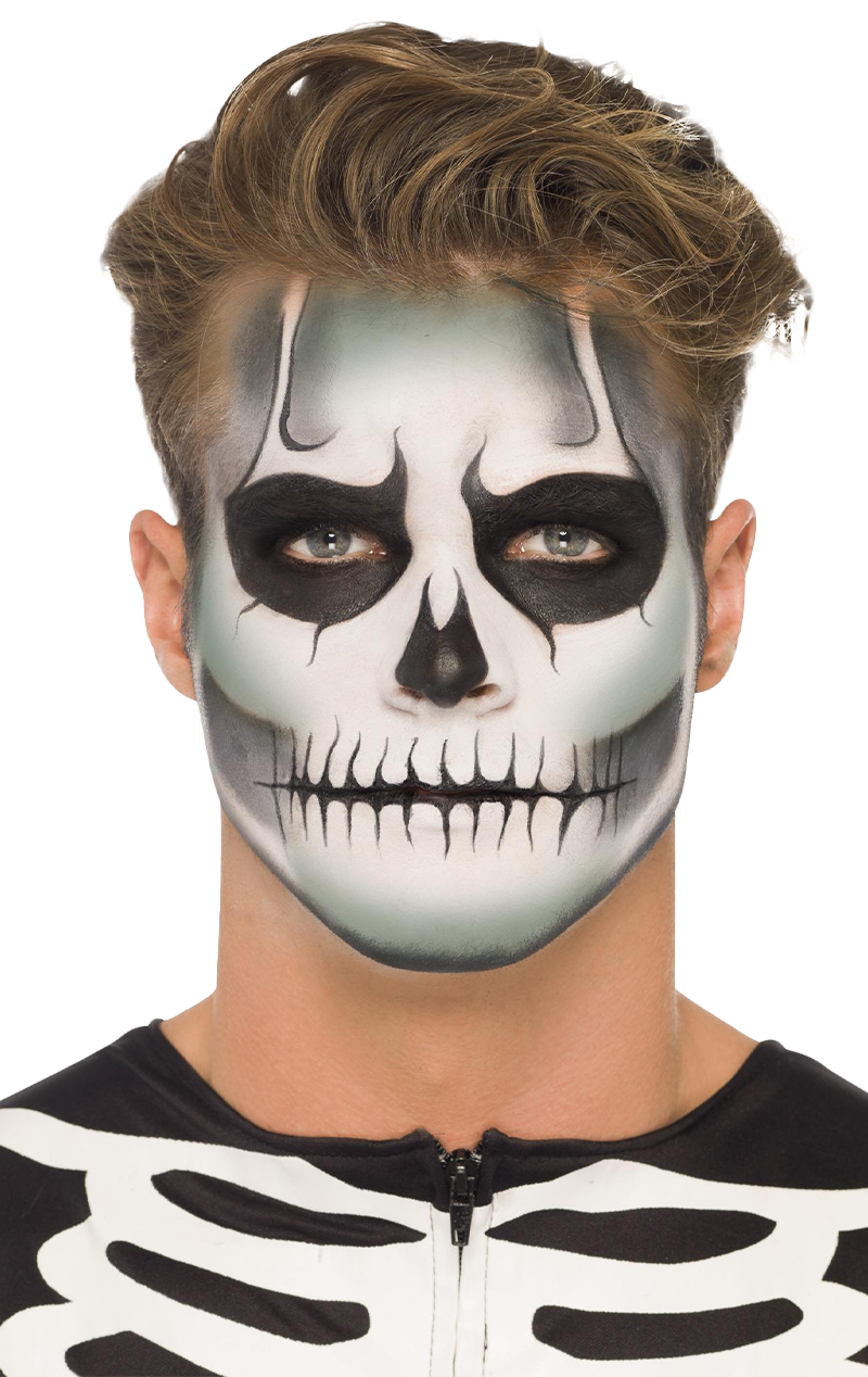 Glow-In-The-Dark Skeleton Makeup Set