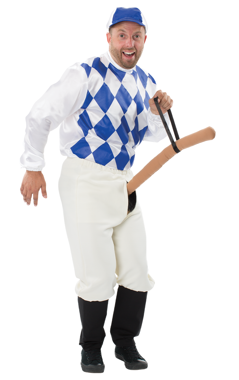 Mens Knob Jockey Stag Costume
