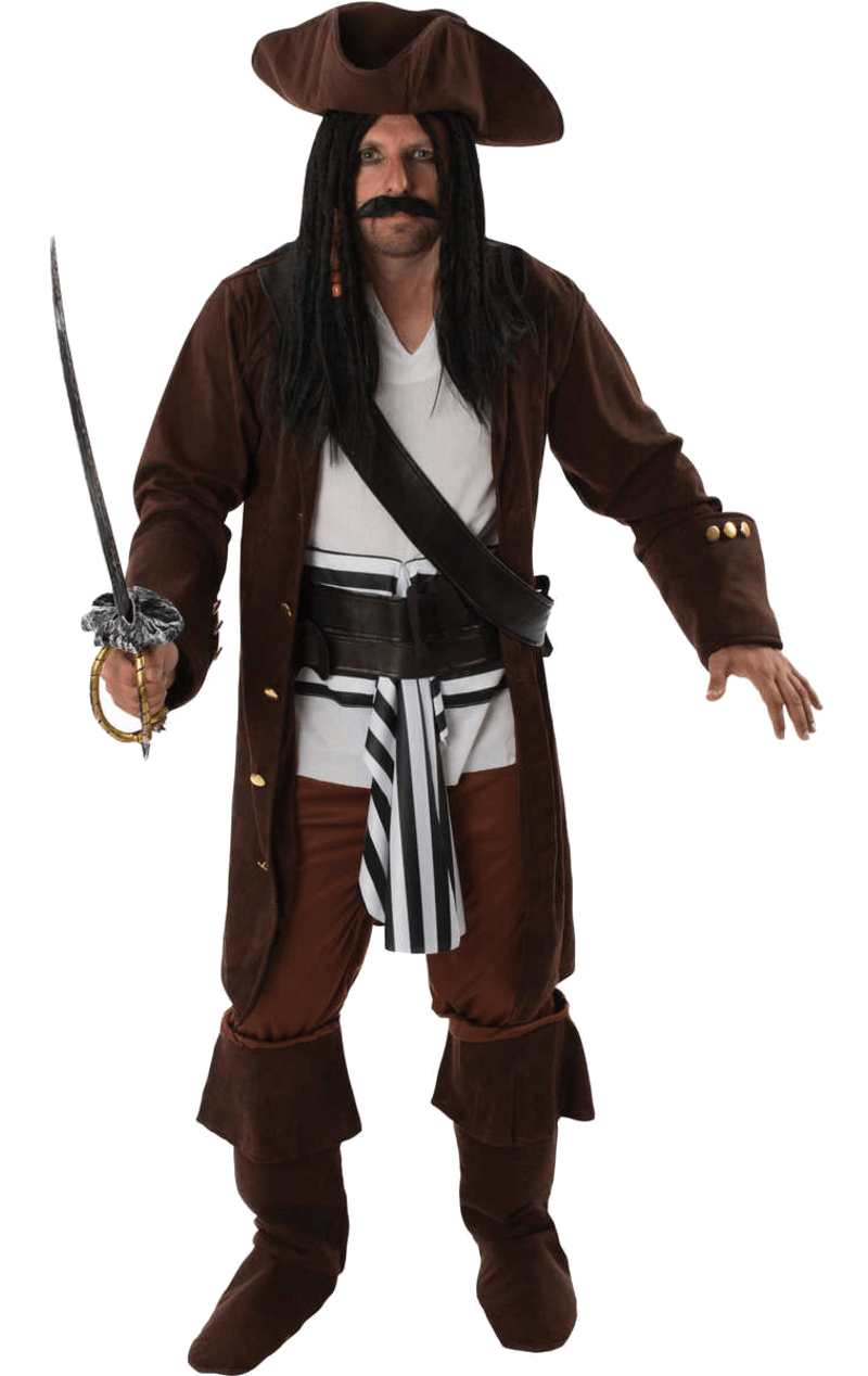 Adult Jack Sparrow Pirate Costume