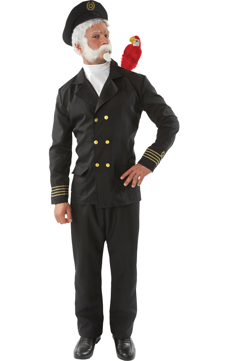 Mens Captain Birdseye Costume