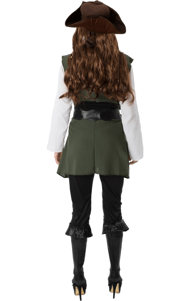 Adult Womens Pirate Fancy Dress Costume