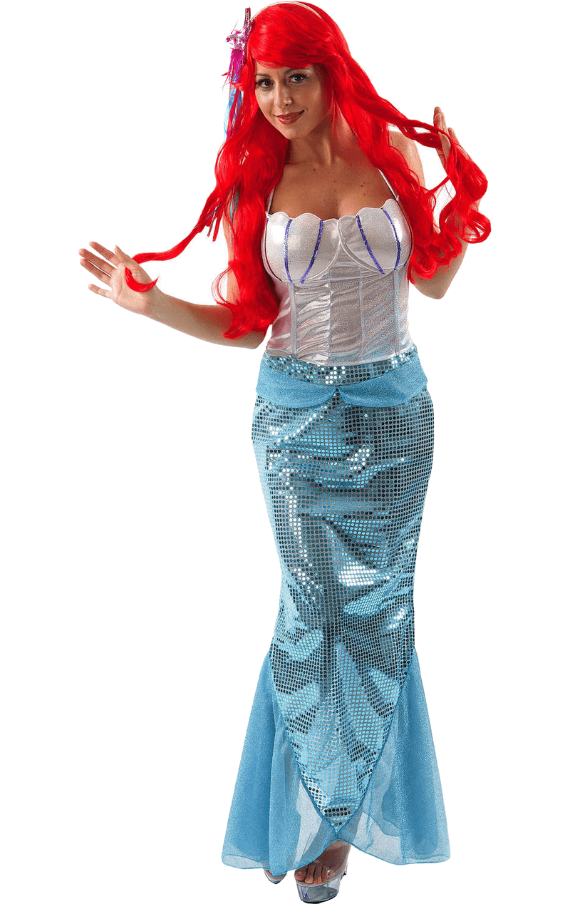 Adult Mermaid Fancy Dress Costume