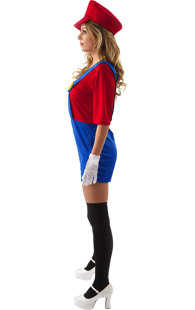 Adult Female Super Mario Costume
