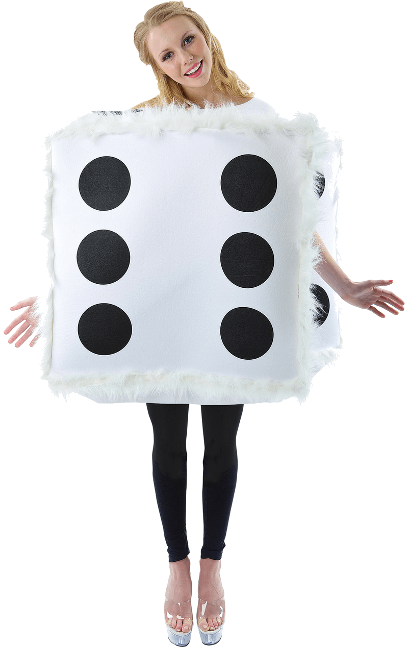 Adult Fluffy Dice Costume