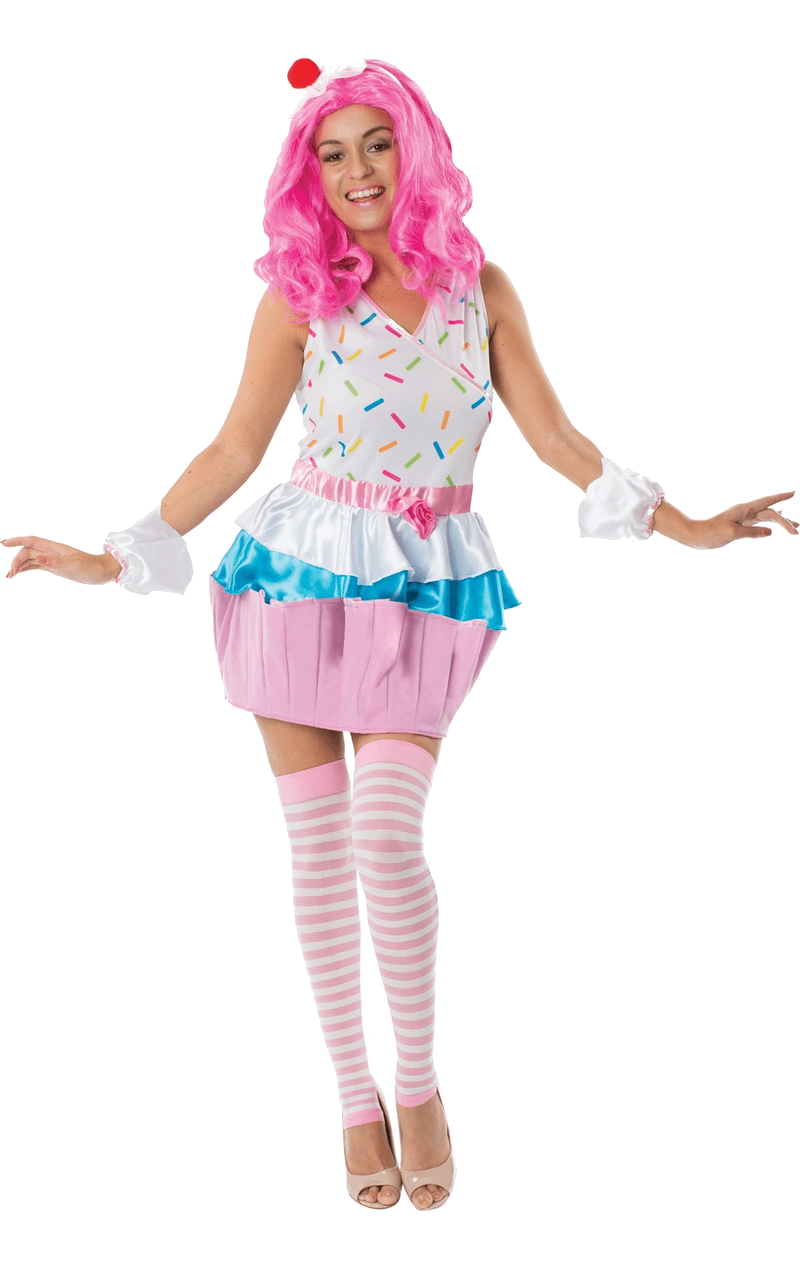 Adult Katy Perry Cupcake Costume