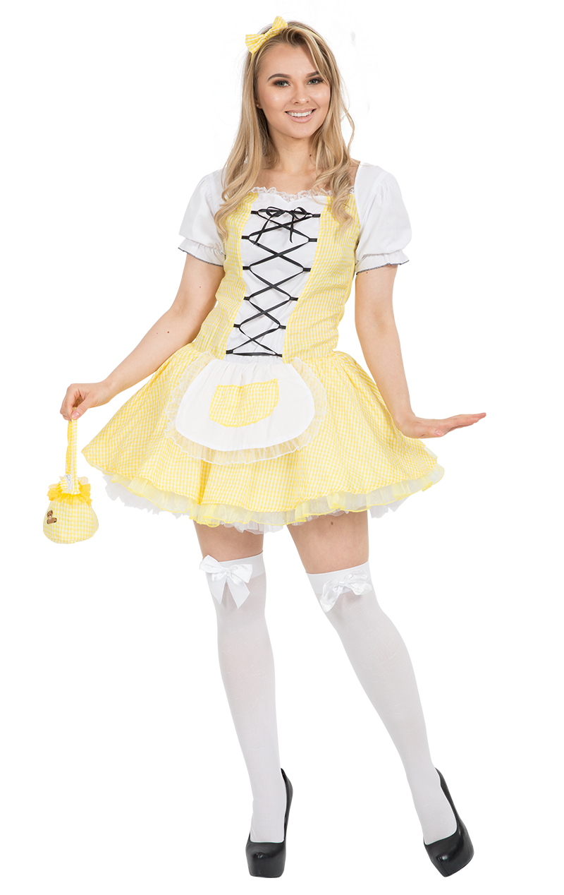 Womens Goldilocks Costume