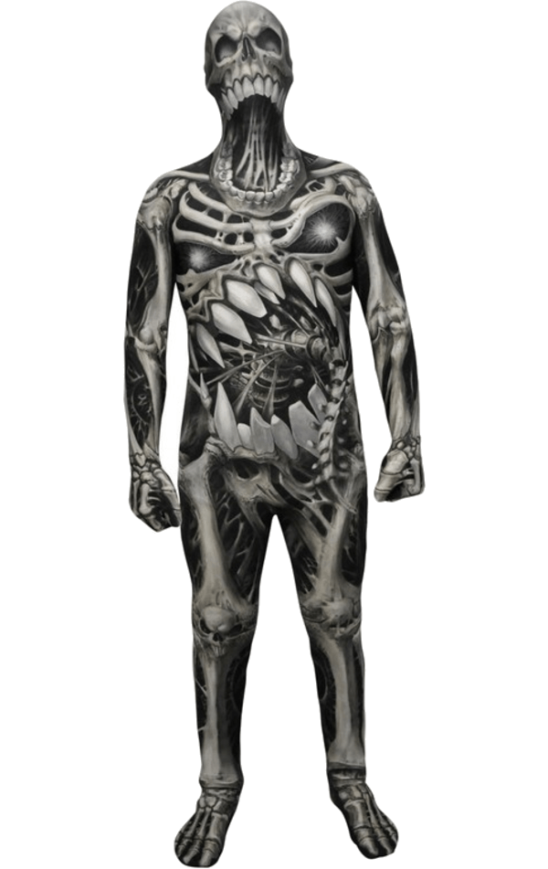 Kids Skull and Bones Morphsuit