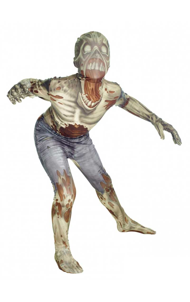 Kids Zombie Morphsuit Costume