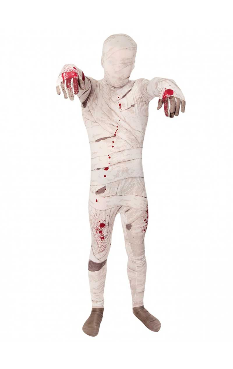 Kids Mummy Morphsuit Halloween Costume