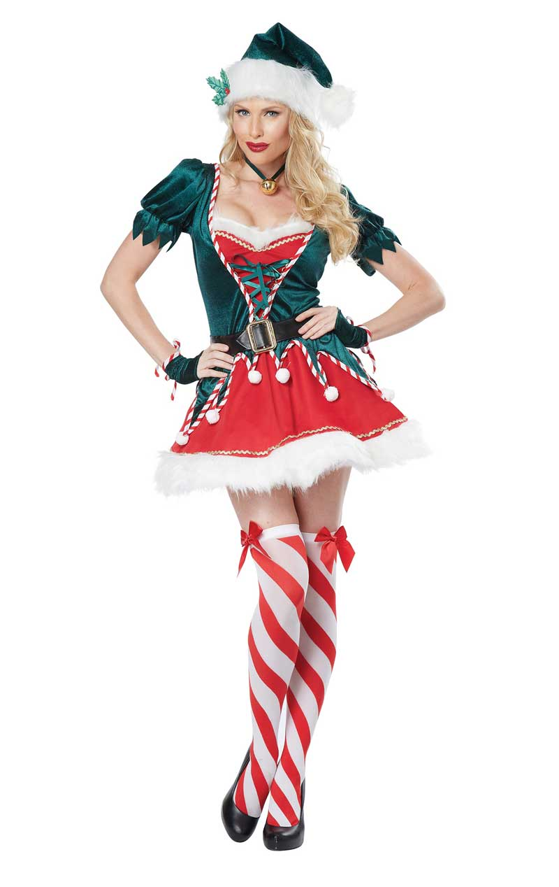Womens Santas Helper Christmas Costume