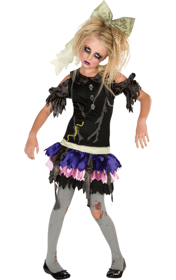 Child Zombie Doll Costume