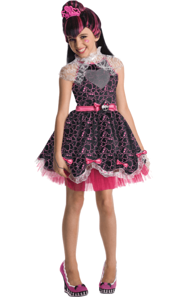 Child Draculaura 1600th Birthday Costume