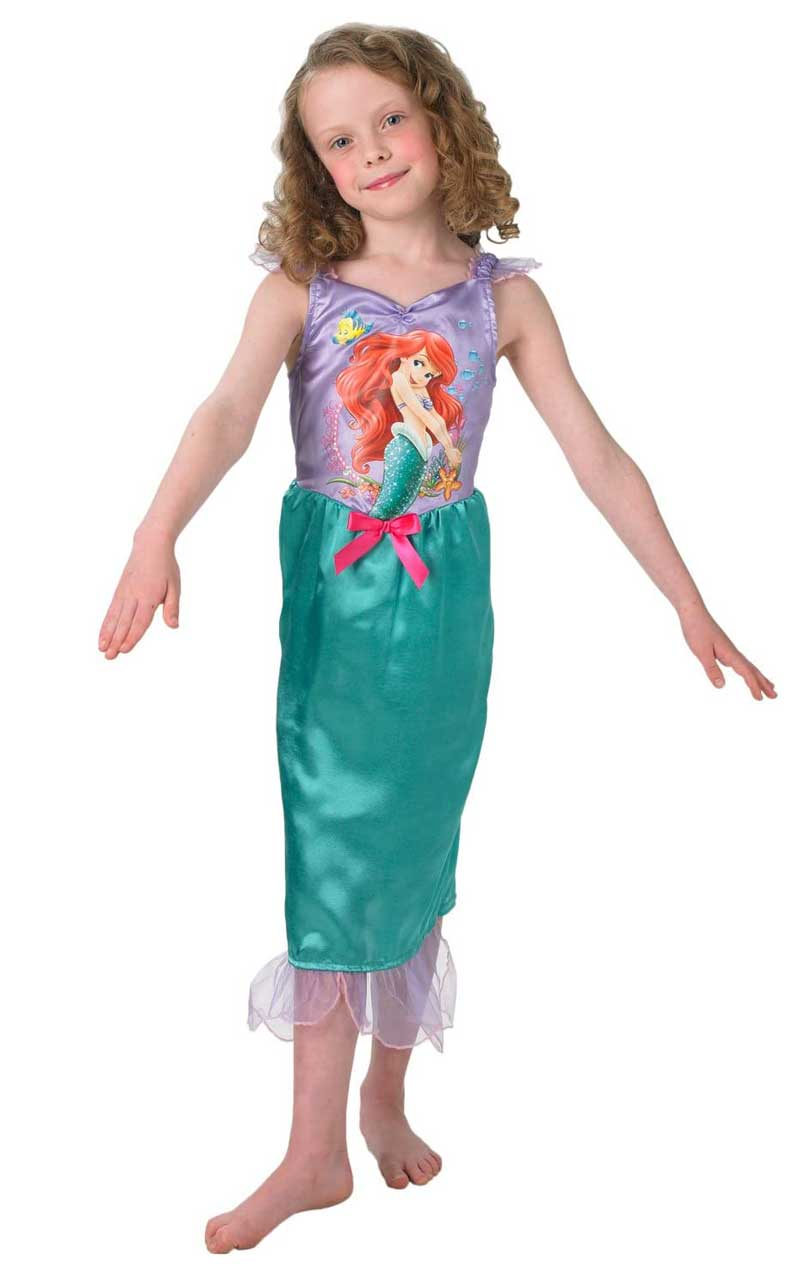 Child Disney Story Time Ariel Costume