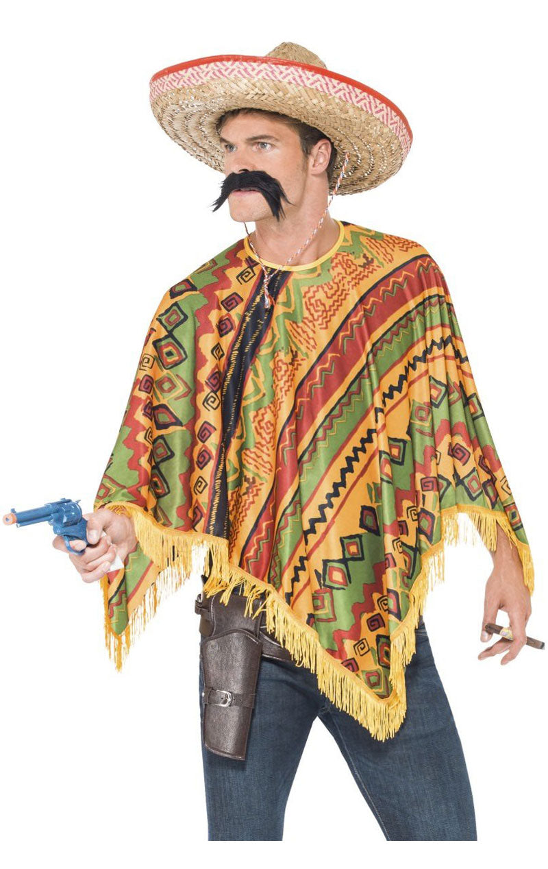Mens Mexican Poncho Kit