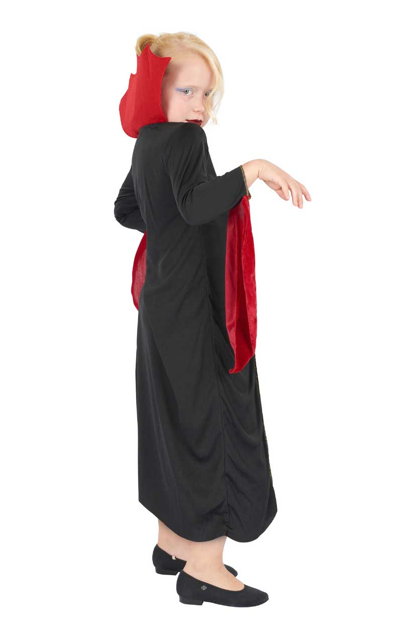 Child Halloween Gothic Vampiress Costume