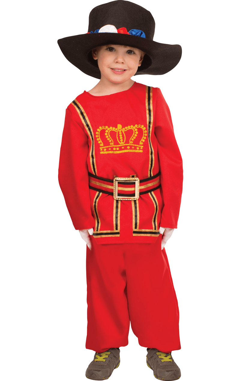 Child Beefeater Fancy Dress Costume