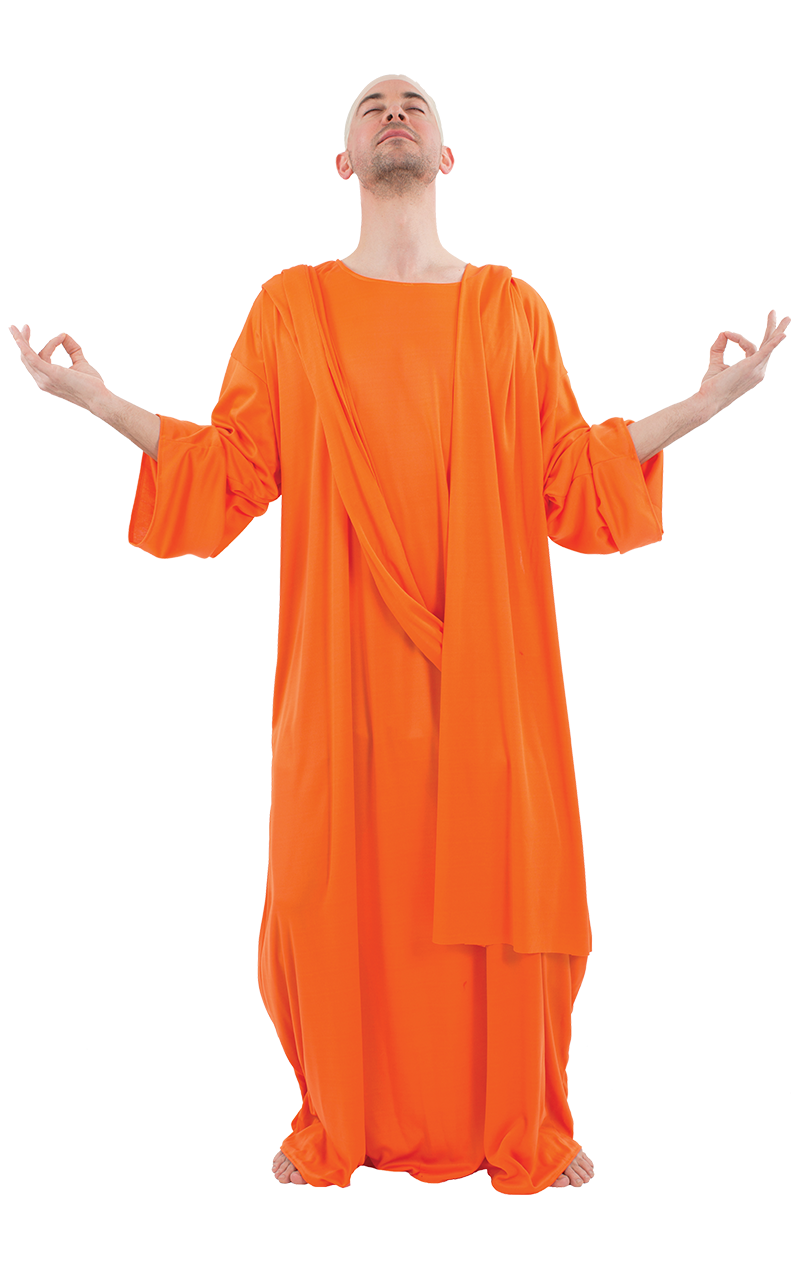 Mens Buddhist Monk Costume