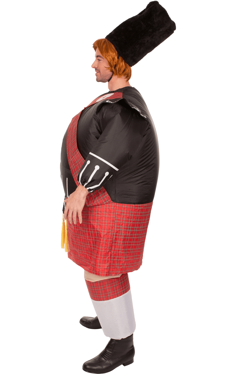 Adult Inflatable Fat B. Scot Costume