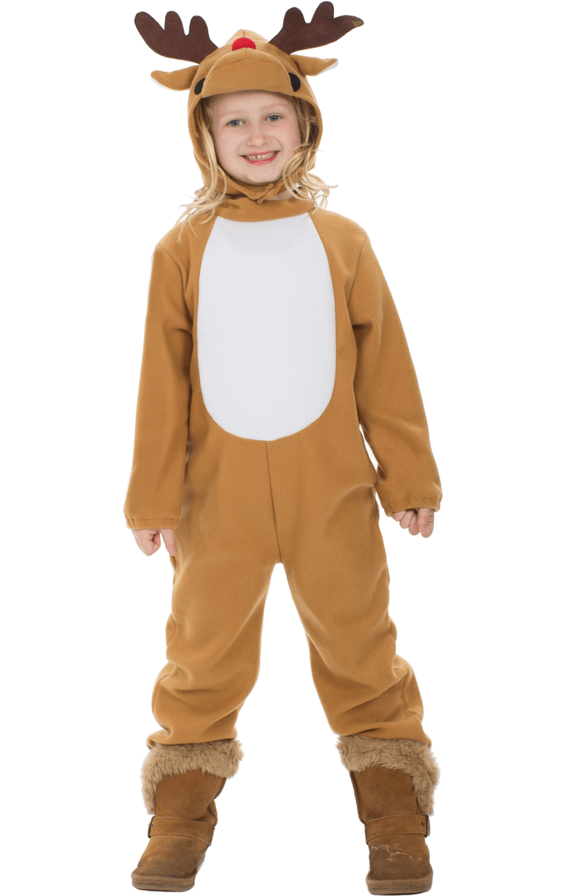 Kids Reindeer Christmas Costume