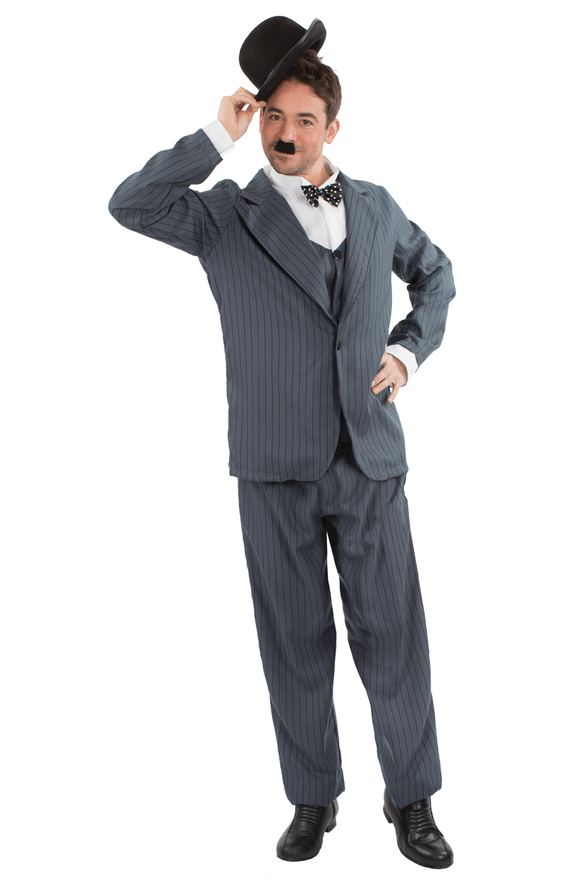 Mens Stan Laurel Costume
