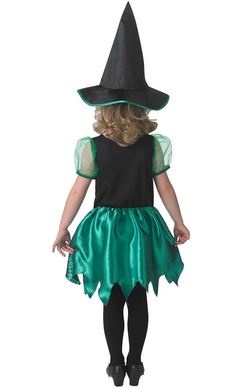 Child Green Witch Costume