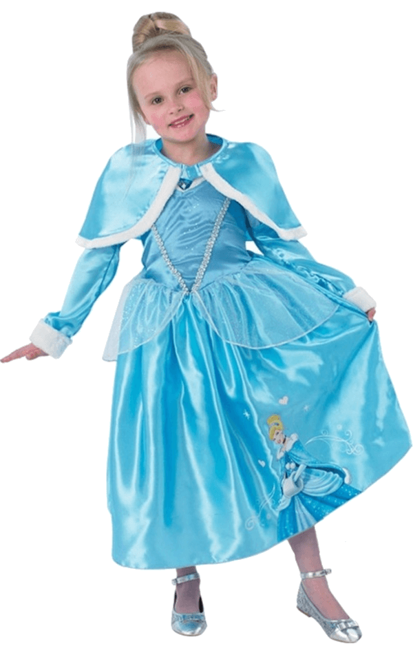 Child Winter Cinderella Costume