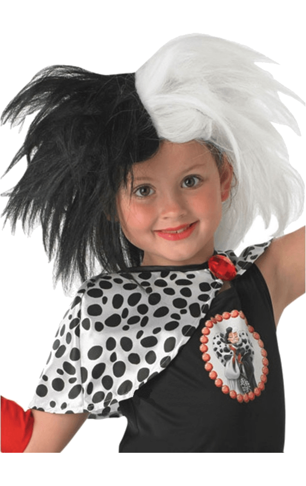 Child Disney Cruella De Vil Wig