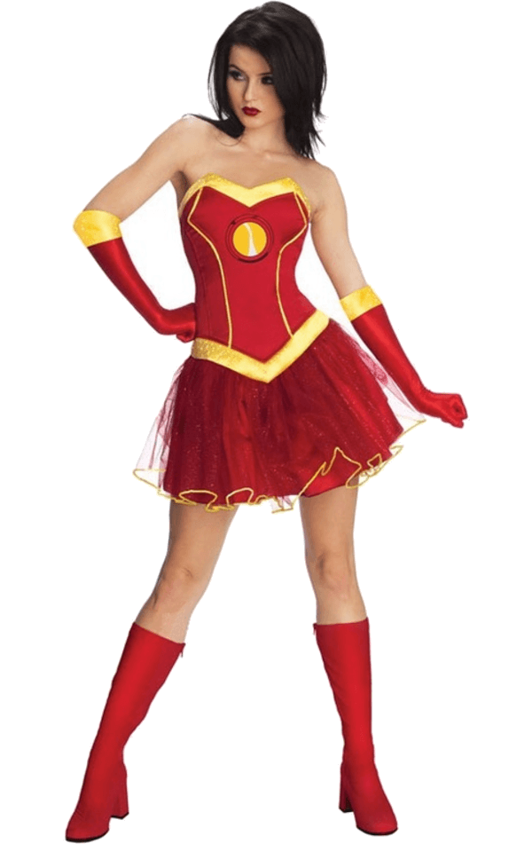 Ladies Official Iron Woman Rescue Costume