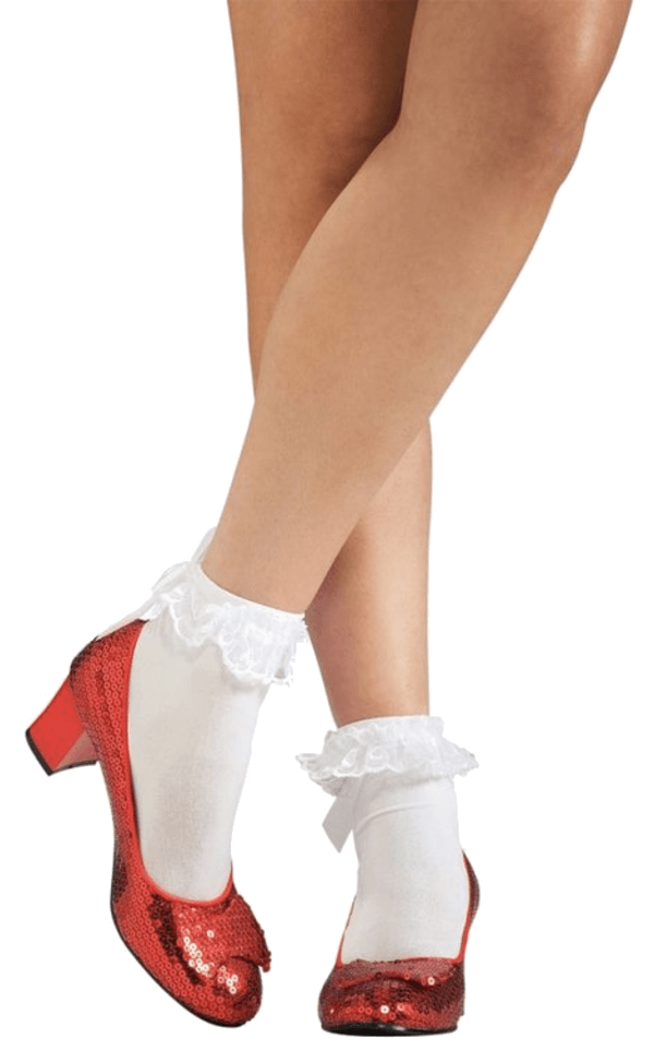 Adult Dorothy Ruby Sequin Shoes