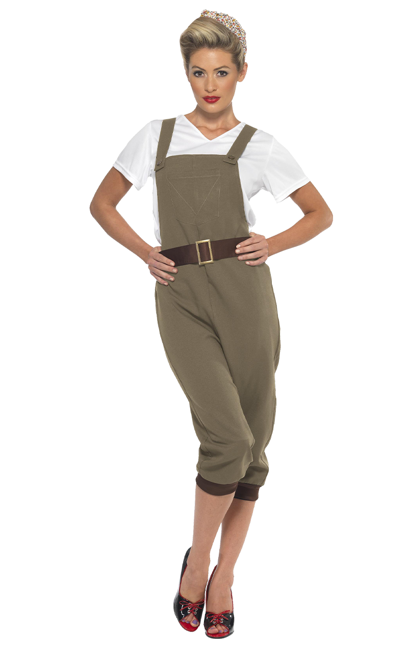 Adult WW2 Land Girl Costume
