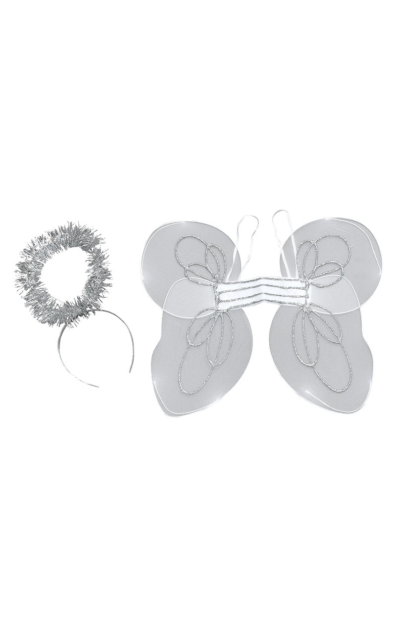 Kids Angel Wings and Halo Set