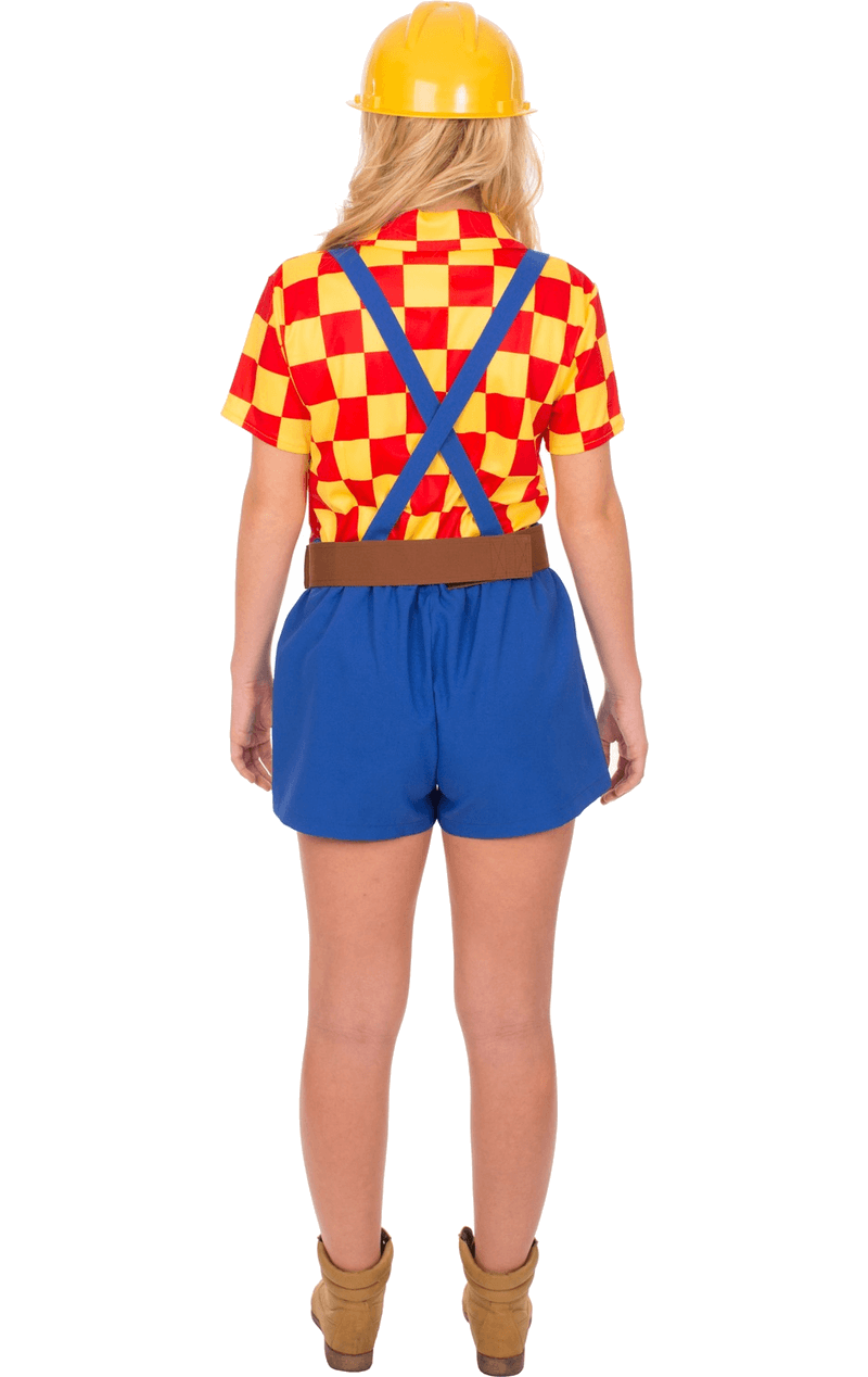Adult Female Bob The Builder Costume