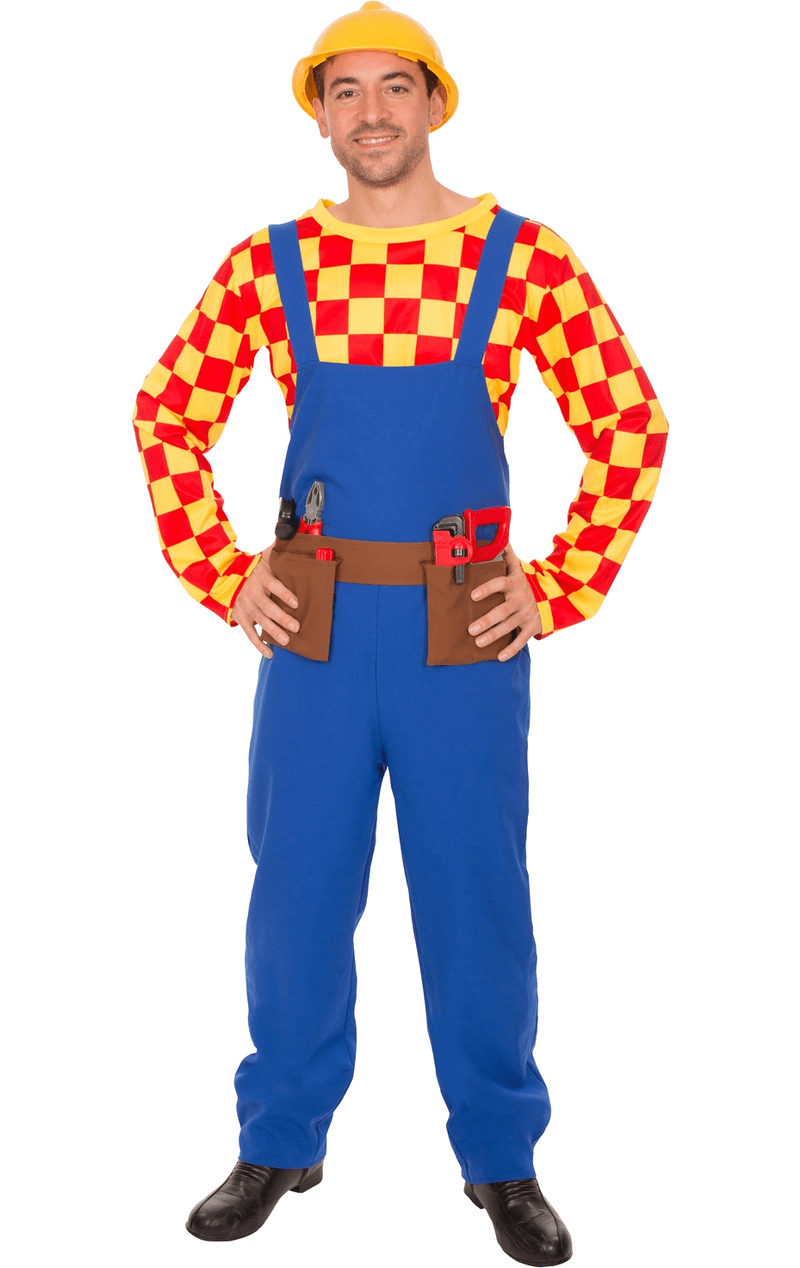 Mens Bob The Builder Costume
