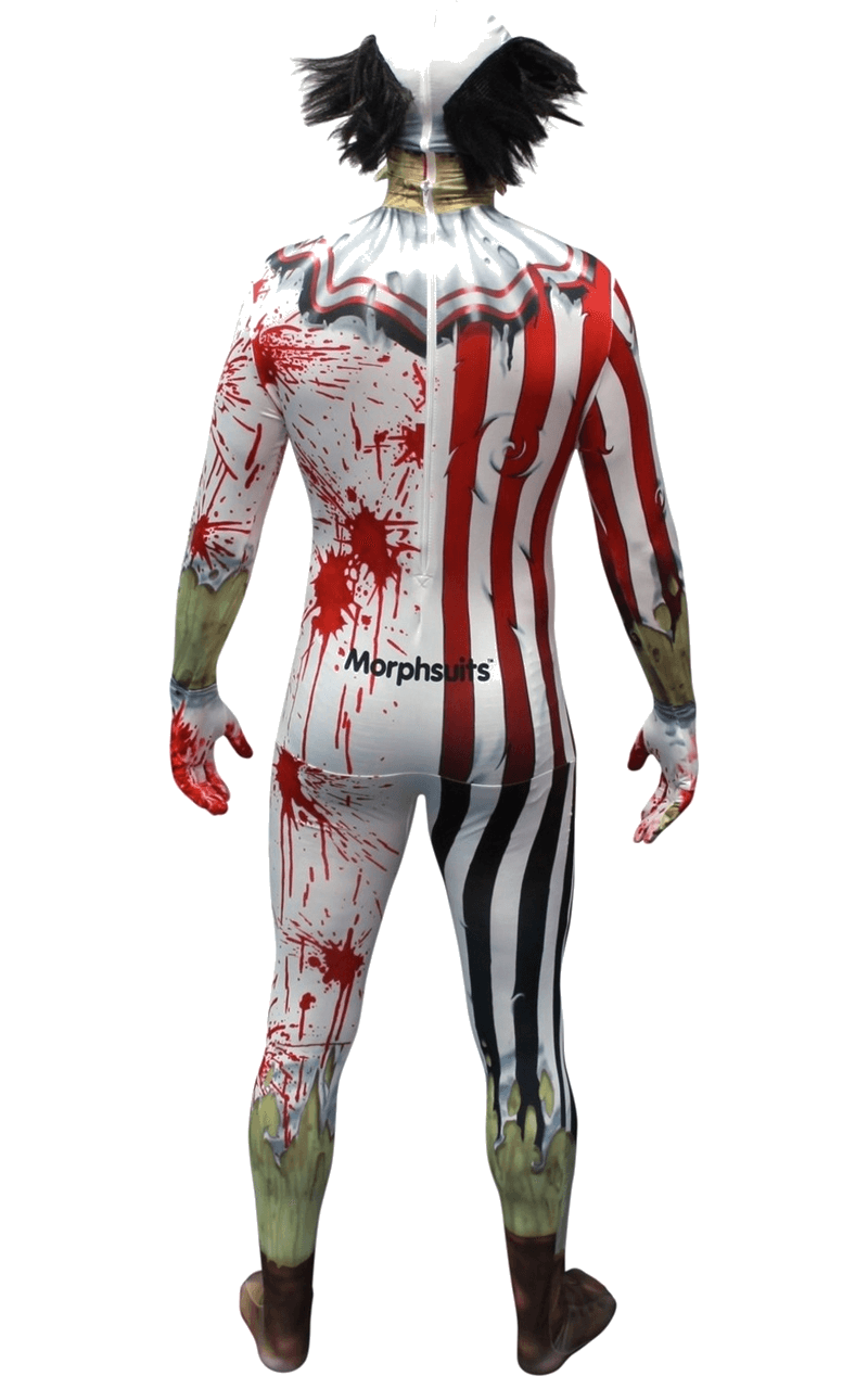 Adult Jaw Dropper Clown Morphsuit