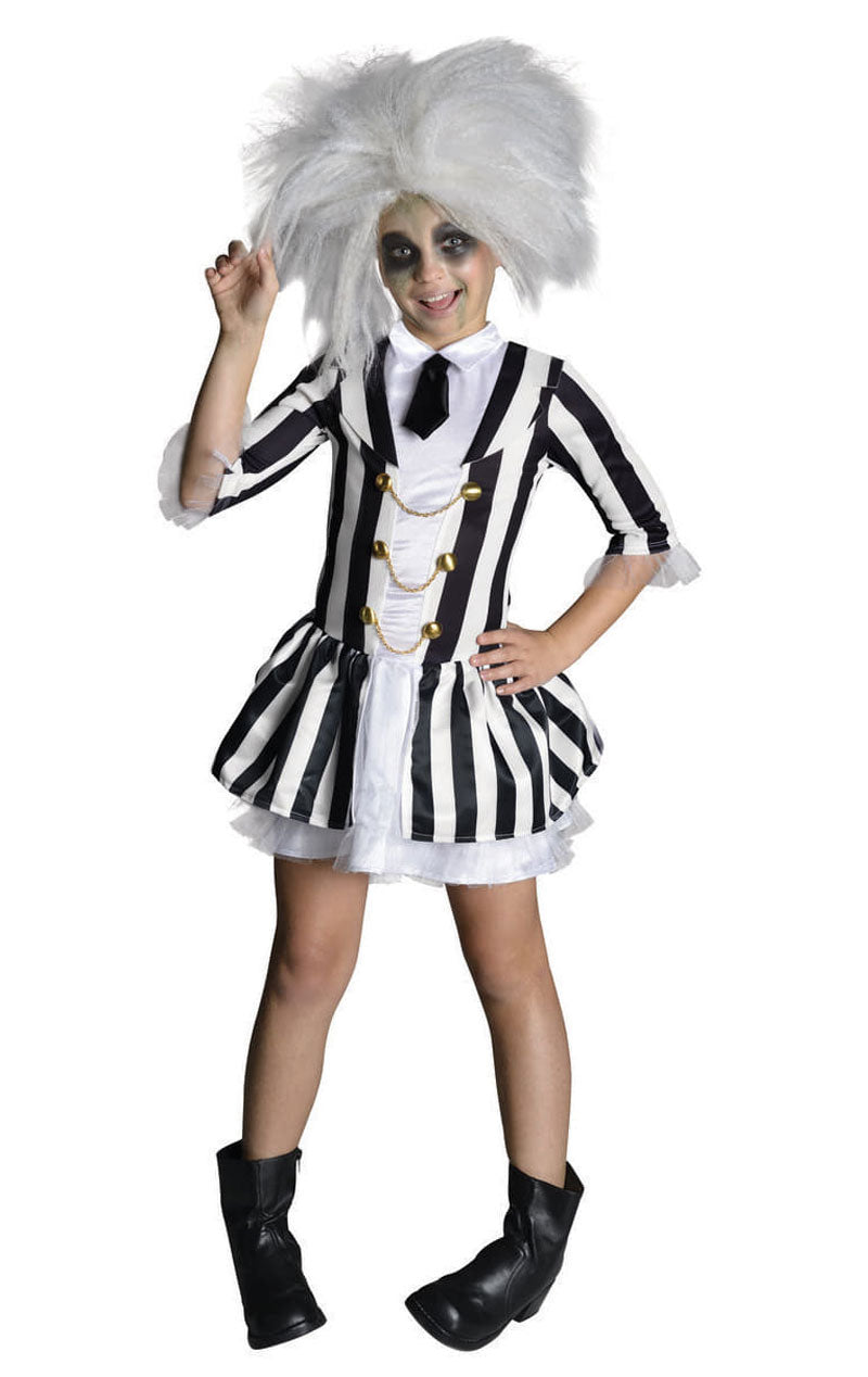 Child Beetlejuice Girl Costume