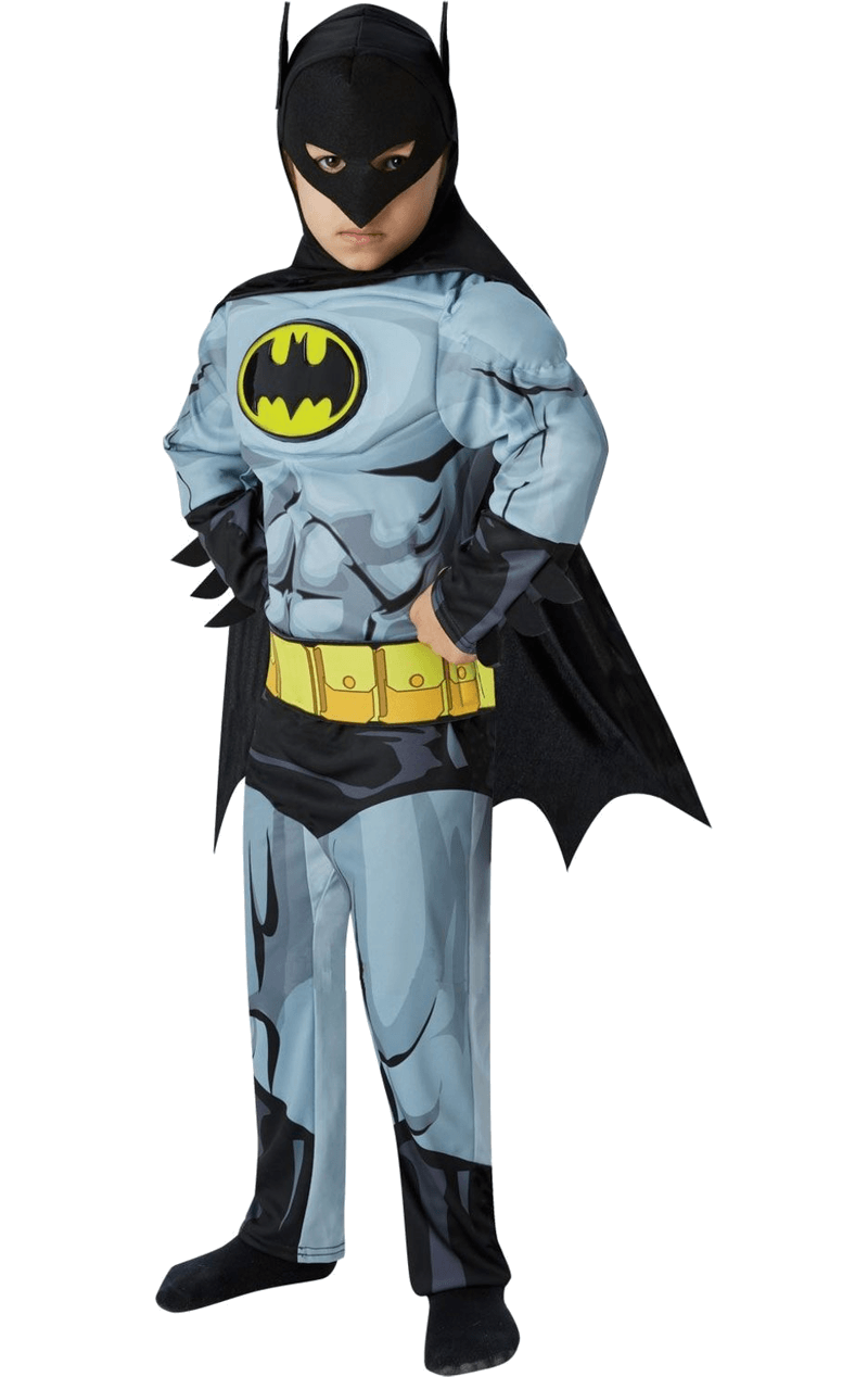 Child Deluxe Comic Book Batman Costume
