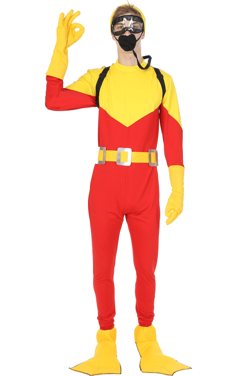 Adult Scuba Steve Big Daddy Costume