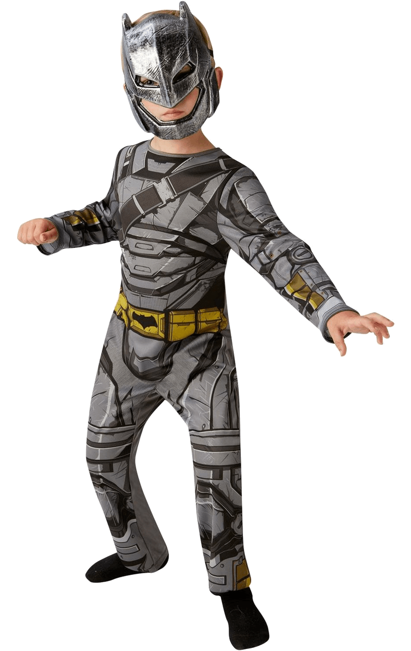 Child Dawn of Justice Batman Armour Age 9+ Costume