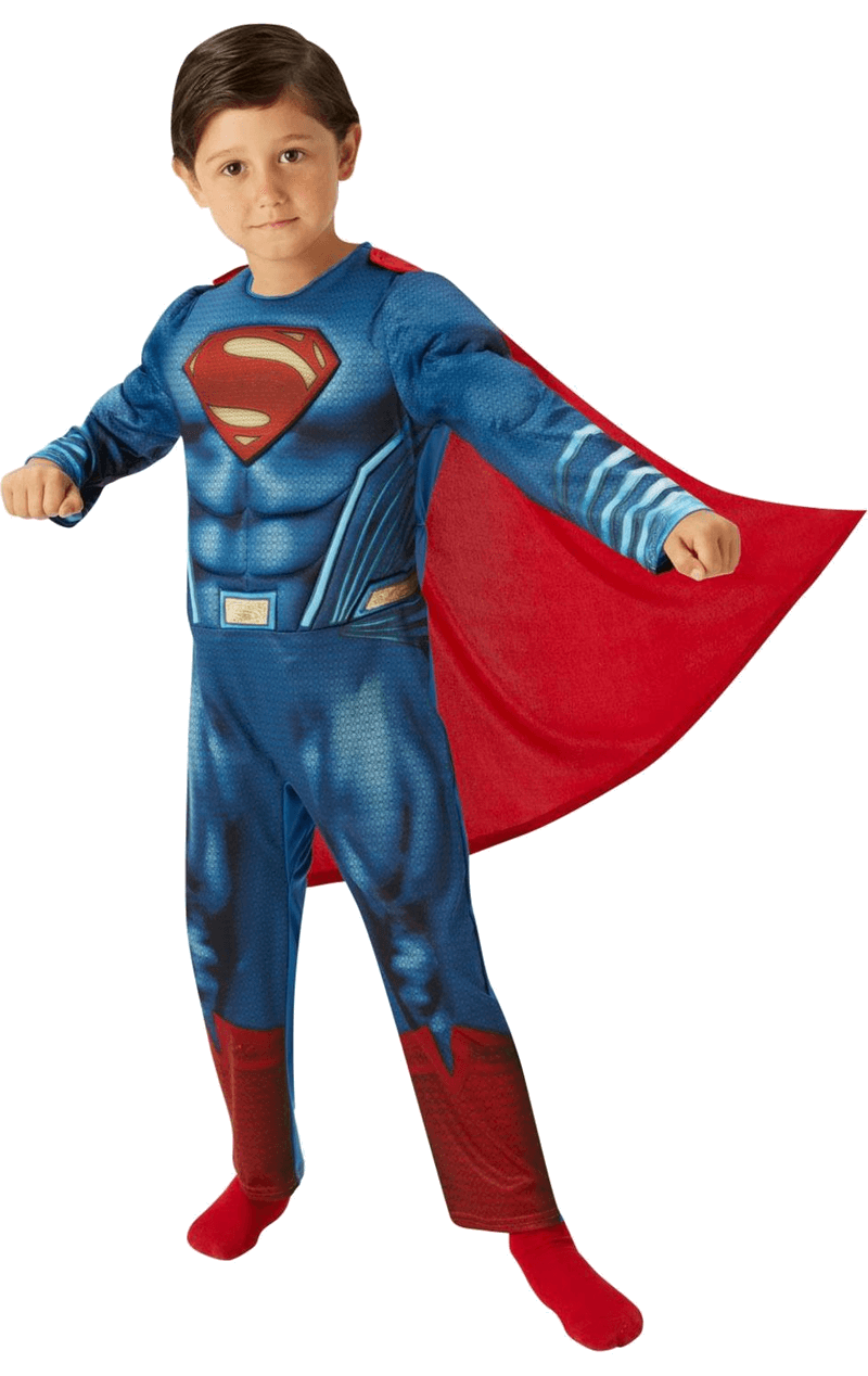 Child Dawn of Justice Deluxe Superman Costume