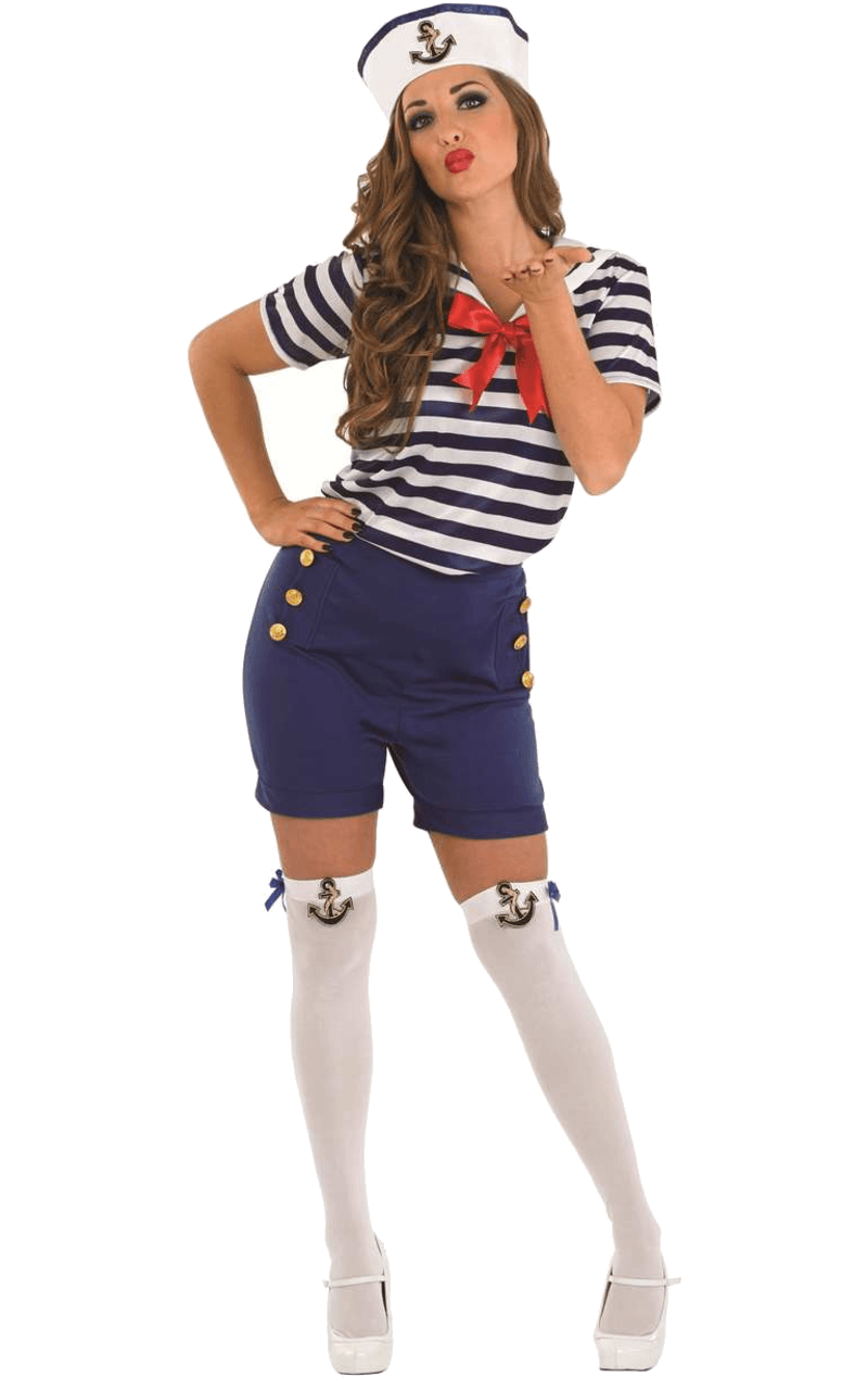 Adult Sassy Sailor Girl Costume