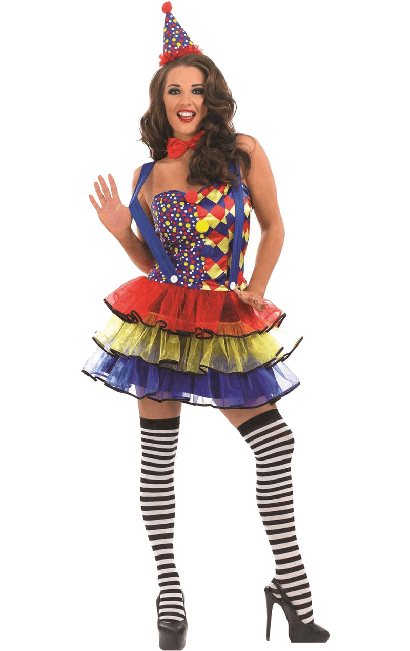Adult Sexy Clown Outfit