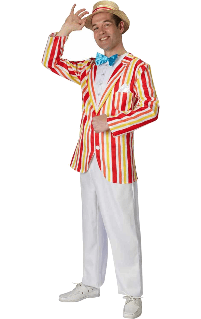 Mens Bert Jolly Holiday Costume