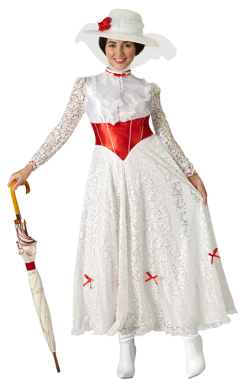 Adult Mary Poppins Jolly Holiday Costume