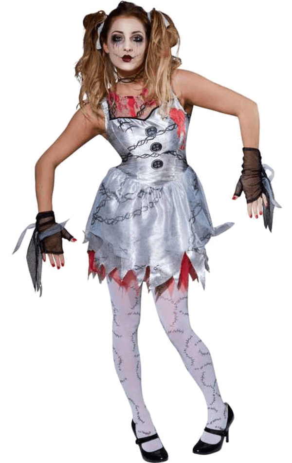 Adult Dead Doll Costume